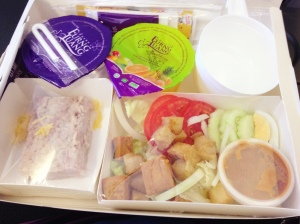 Lunch on Thai Air