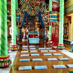 A religion created by the Vietnamese to celebrate all religions.